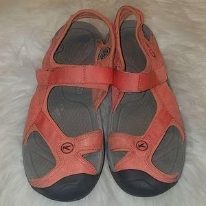 Keen Slingback Coral Sandals